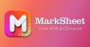marksheet.io logo icon