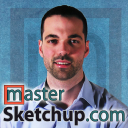 Master Sketchup logo icon