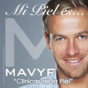 "MAVYPALACIO ""Skin care Centers"" logo"