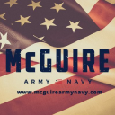 Mc Guire Army Navy logo icon