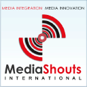 MEDIASHOUTS INTERNATIONAL logo