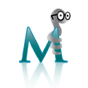Med Worm logo icon