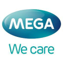 Mega We Care logo icon