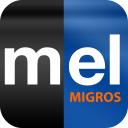 Melectronics logo icon