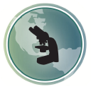 Microscope World logo icon