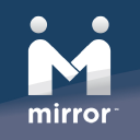 Mirror logo icon