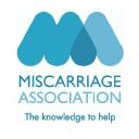 The Miscarriage Association logo icon