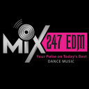 Mix 247 Edm logo icon