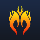 Moba Fire logo icon