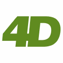 4 D Model Shop logo icon