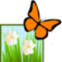 Monarch Butterfly Garden logo icon