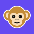 Monkey logo icon