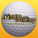 Monster Mini Golf logo icon
