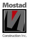 Mostad Construction Inc logo