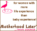 motherhoodlater.com logo icon