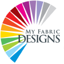 MY FABRIC DESIGNS logo