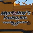 Myrl & Roy's Paving logo