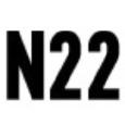 N22 Menswear Logo