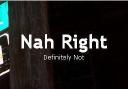 Nah Right logo icon