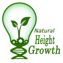 Natural Height Growth logo icon