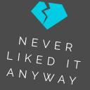 neverlikeditanyway.com logo icon