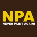 Neverpaintagain logo icon