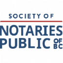 The Society Of Notaries Public Of Bc logo icon