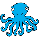 Octopus logo icon