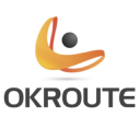 Ok Route logo icon