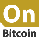 On Bitcoin logo icon