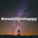#Onebillionhappy logo icon