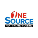 One Source Heating & Cooling logo icon