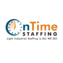 On Time Staffing Company Logo
