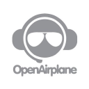 Open Airplane logo icon