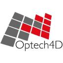 Optech4 D logo icon