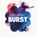 Organic Burst® logo icon