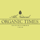 Organic Times logo icon