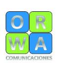 ORWA COMUNICACIONES logo