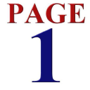 Page One logo icon