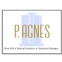 p. agnes builders logo