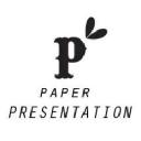 Paper Presentation logo icon
