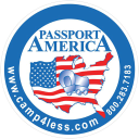 Passport America logo icon