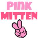 Pink Mitten logo icon