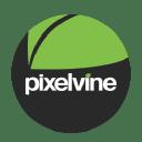 Pixelvine Creative Leaf logo