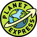 Planet Express logo icon