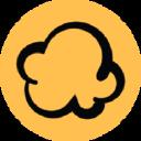 Logo for podcorn