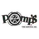 Pomp's Tire Service Company Logo