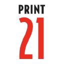 Print21 logo icon