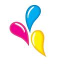 Printing Blue logo icon
