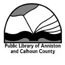 Public Library of Anniston-Calhoun County logo